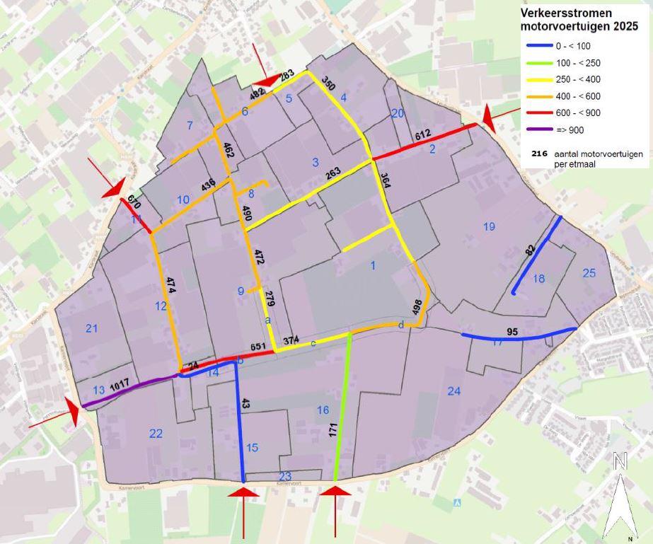 Visualisatie verkeersstromen